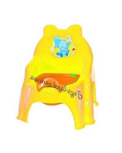 Горшок детский №2, арт. 013317-1, Фламинго (Долони)
