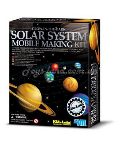 Мобиль солнечной системы (светится в темноте), арт. 00-03225, 4М