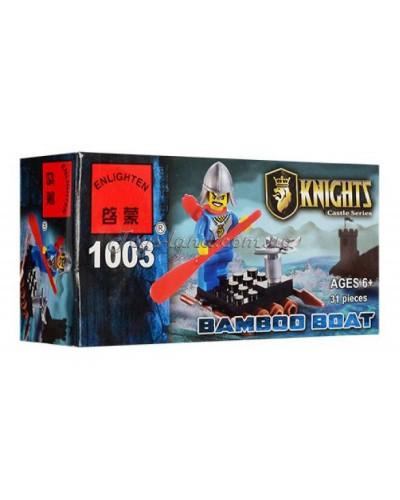 """Конструктор """"Brick"""" 1003  KNIGHTS, 31дет, в собр.коробке 14*7*4,5см"""