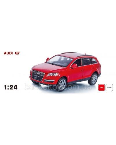 """Машина металл 68249A  """"АВТОПРОМ"""", батар., свет, звук, откр.двери, капот, багаж., в кор. 24,5*12,5*"""