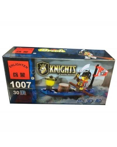"""Конструктор """"Brick"""" 1007   KNIGHTS, 30дет, в собр.коробке 14*7*4,5см"""