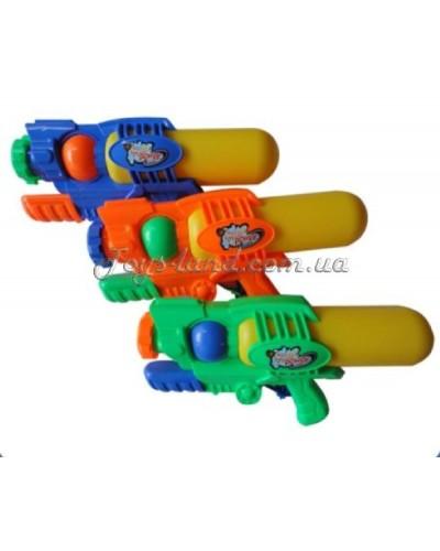 Водный пистолет WG-5 с насосом, в пакете 34см