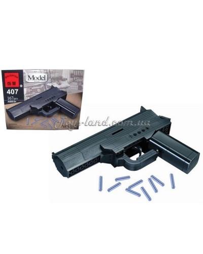 """Конструктор """"Brick"""" 407 (705567)  """"Пистолет"""" 167 дет., в разобр. кор 24*19*5см"""