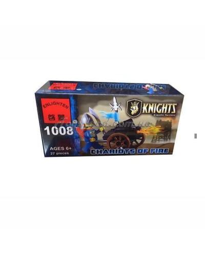 """Конструктор """"Brick"""" 1008  KNIGHTS,  27дет, в собр.коробке 14*7*4,5см"""