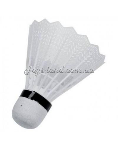 Волан пластмассовый белый (упковка 40 шт.), арт. BT-BPS-0004