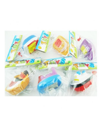 Водоплавающие игрушки TY909-P  6видов, в пакете 12*5
