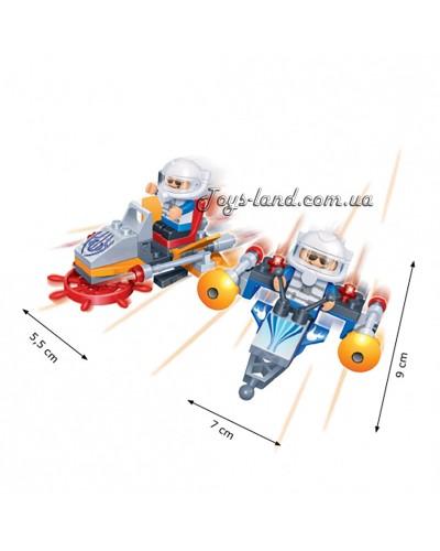 Конструктор BANBAO 8006  космический шатл, 56 дет, фигурки 2 шт, в кор-ке, 16-10-3,5см
