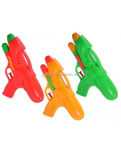 Водный пистолет M-52 3 цвета, 19см, в пакете 17*19см