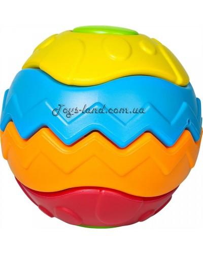 Сборный 3D мяч-головоломка 5 деталей 9М+ укр.упаковка