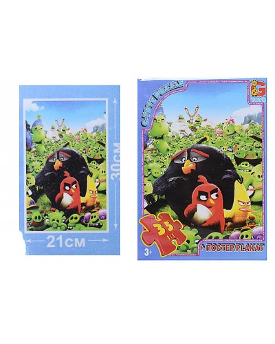 """Пазлы """"Angry Birds"""", 35 ел"""
