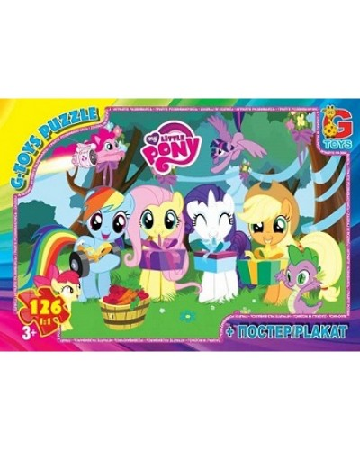 "Пазлы ""My little Pony"" 126 ел."