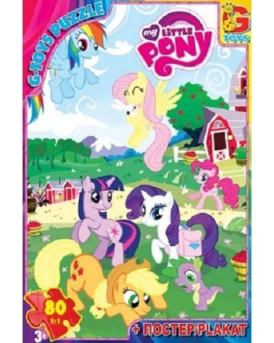 "Пазли ""My little Pony"" 80 ел."
