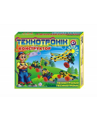 """Конструктор пластиковый """"Технотроник"""" (139 дет.), арт. 0830, ТехноК"""