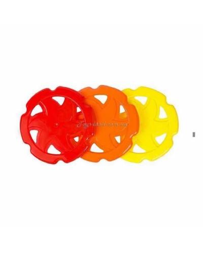Летающий диск (3 цвета), арт. 4050, ТехноК