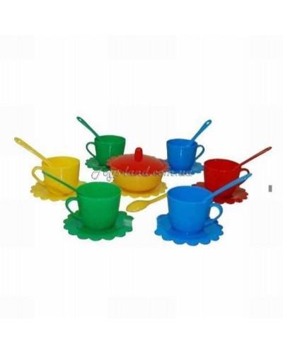"""Набор посуды на 6 персон """"Ромашка - Люкс"""" с сахарницей, арт. 39090, Тигрес"""
