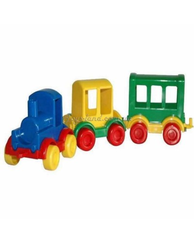 """Паравозик """"Kid cars"""" (3 вида), арт. 39260, Тигрес"""