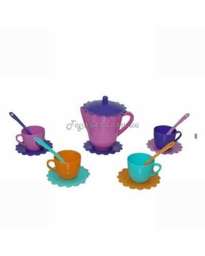 """Набор посуды на 4 персоны """"Ромашка - Люкс"""" с чайником, арт. 39085, Тигрес"""