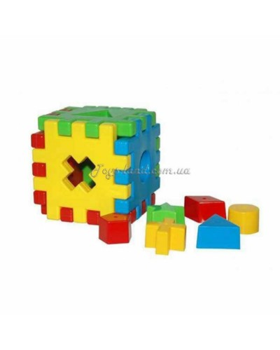"Куб сортер ""Волшебный куб"" (12 ел.), арт. 39376, Тигрес"