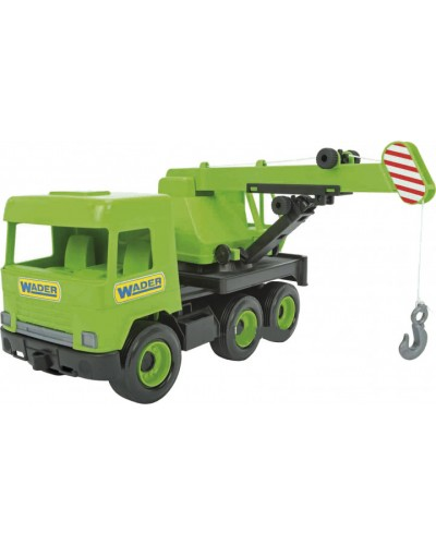 """Авто """"Middle truck"""" кран (св. зелений) в коробці"""