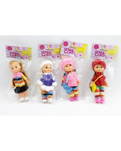 """Кукла """"Крошка Сью"""" 8806 4 вида, в пак. 18см"""
