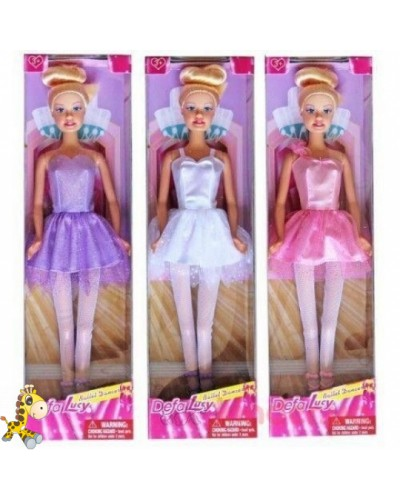 "Кукла ""Defa Lucy"" 8252 балерина, в кор.9*5*32см"
