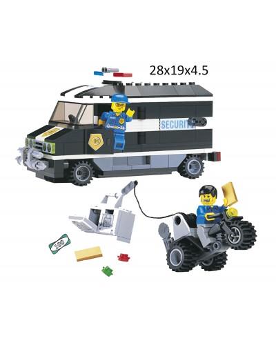 """Конструктор """"Brick"""" 127 (457833)  """"Инкассатор"""" 209 дет., в разобр. кор. 28*19*4,5 см"""