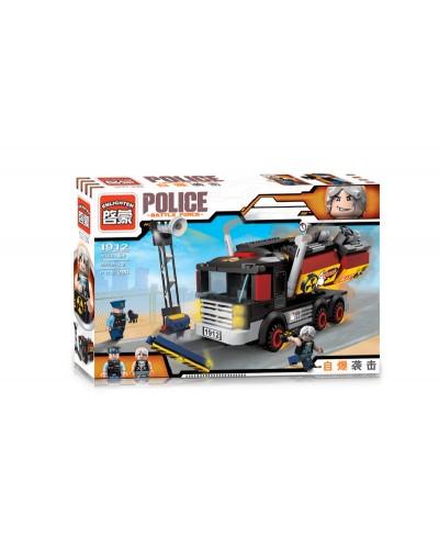 """Конструктор """"Brick"""" 1912 """"Police"""" в разобр.кор.32,5*22*6см"""