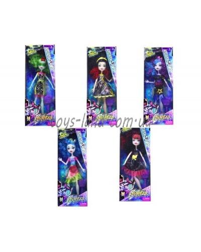 """Кукла """"Monster High""""Electrified"""" DH2168  4 вида, с расческой, шарнирные, в кор."""