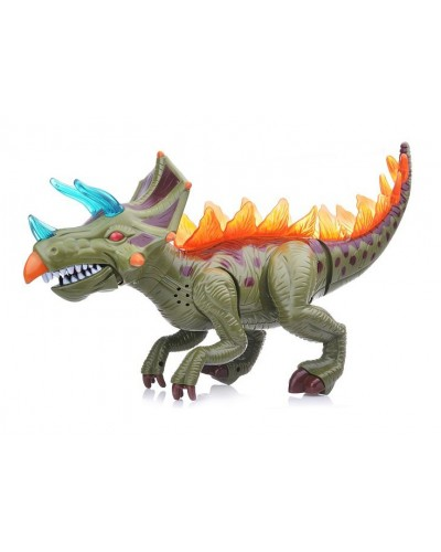 Животные 60096 динозавр, свет, звук, ходит, в коробке 36*23*15 см