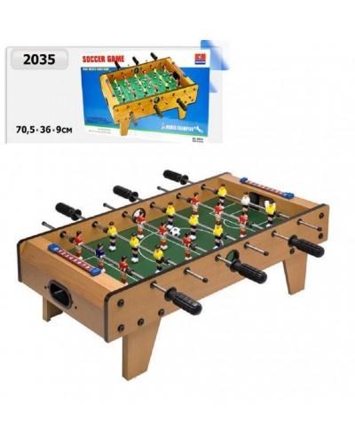 Футбол деревянный 2035 в коробке 70*36*9см