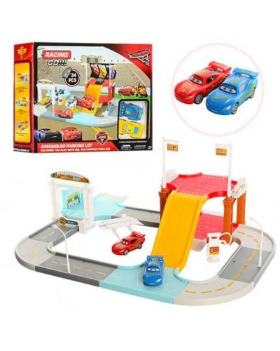 """Паркинг 6332  """" CARS 3 """" , в коробке 31,8*25,7*9см"""