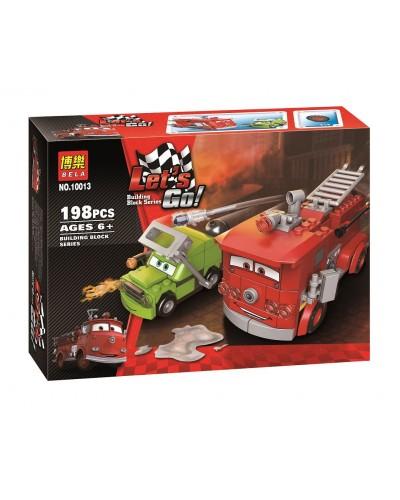 Конструктор BELA CARS 10013 198дет., в собр.коробке 26*19*7см