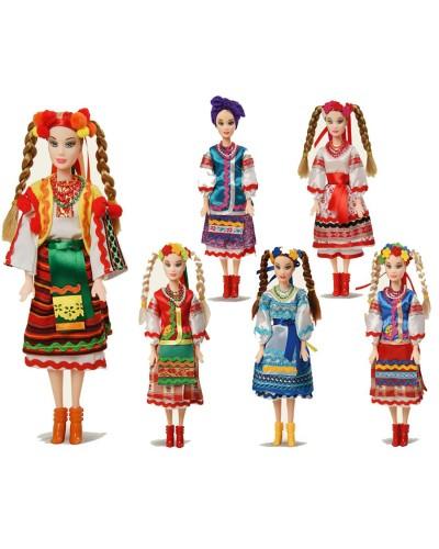 """Кукла """"Оксанка"""" 080103 6 видов, в коробке,33*15*6,7см"""