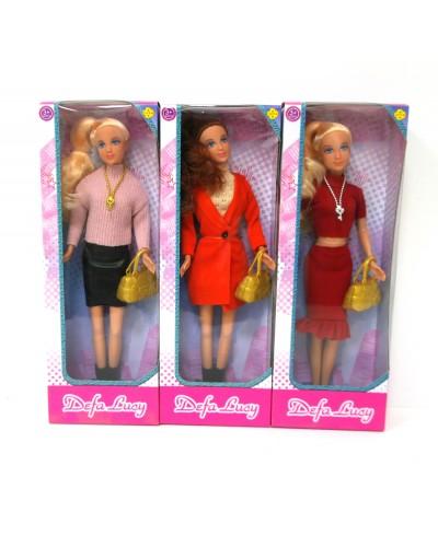 """Кукла """"Defa Lucy"""" 8365 3 вида, с сумочкой, в кор.11*31*5см"""