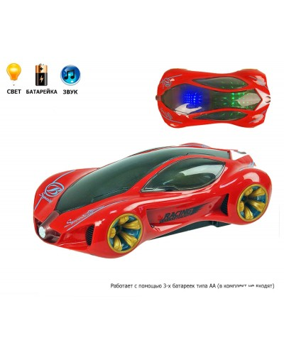 Машина батар. YJ-568A 3D-свет, в коробке 20*7*10,5см