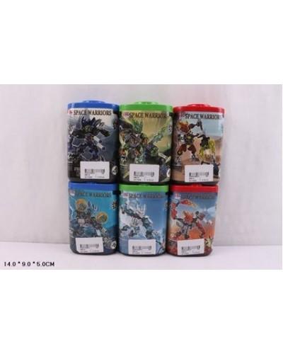 """Конструктор """"Bionicle"""" 998-74 6 видов, в колбе 14*9*5см"""