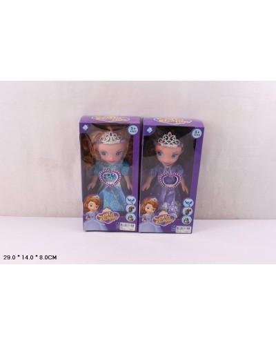 """Кукла """"Sofia"""" 9810 2 вида, в кор.38*21*9см"""