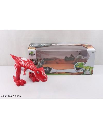 Животные 28301 батар, динозавр, звук,свет, ходит, в коробке 43*18*6 см