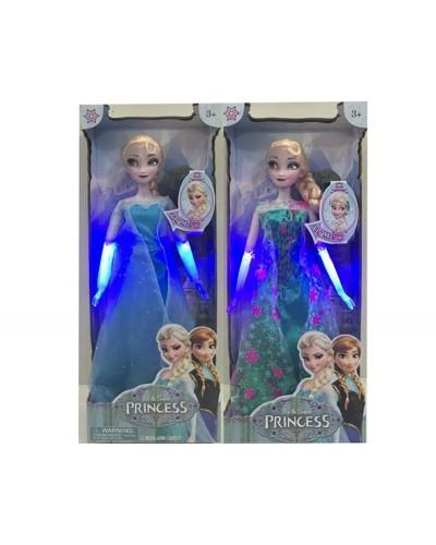 "Кукла ""Frozen"" YF101B/YF101C  шарнир, со светом, в кор. 37*11*35см"