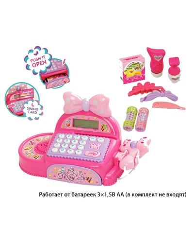 Кассовый аппарат FS-35562 батар, свет, звук, сканер, калькулятор, аксесс, в кор33*14*21