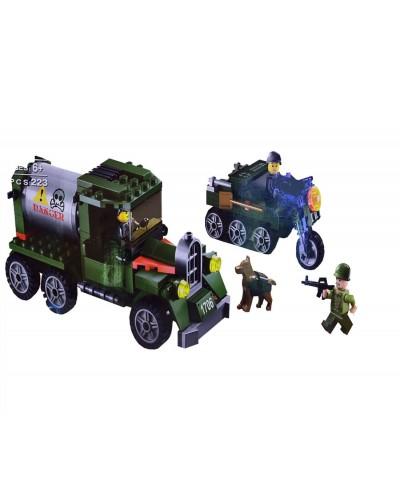 """Конструктор """"Brick"""" 1706 223дет., в разобранной коробке 31,5*5*19см"""