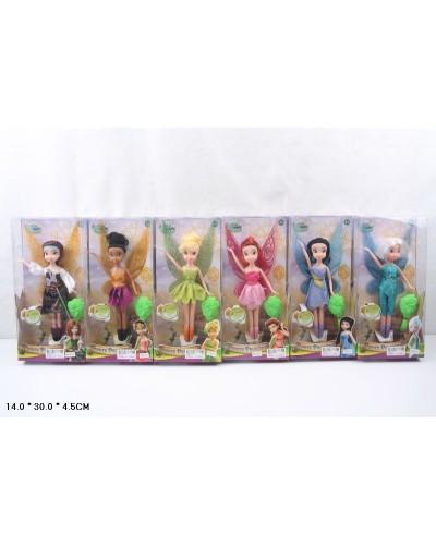 """Кукла """"Tinker Bell"""" YF9111 6 видов, в кор. 14*4,5*30см"""