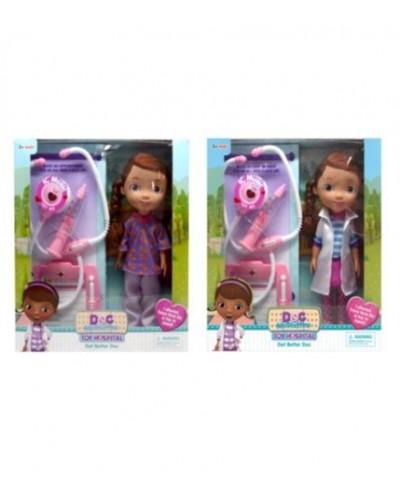 """Кукла """"Doc MC Stuffins"""" A278 2 вида, с наб.доктора (шприц, стетоскоп, планшет), в кор."""