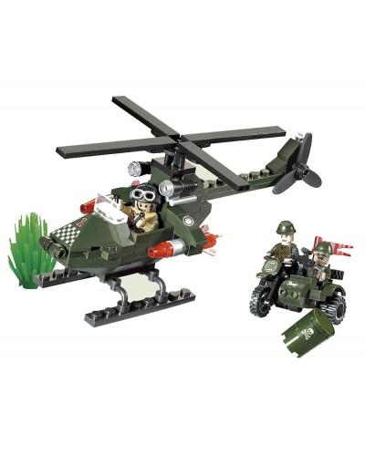"""Конструктор """"Brick"""" 806 """"Вертолет"""" 119 дет, 6+лет, в кор. 18*14*4,5см"""