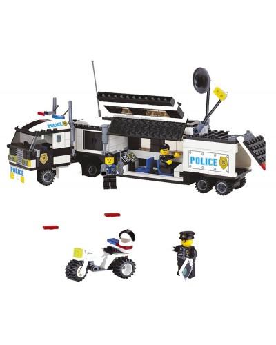 """Конструктор """"Brick"""" 128  """"Полицейский фургон"""" 325 дет, в разобр. кор.29*28*6 см"""