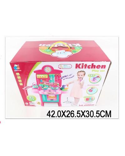 """Набор """"Кухня"""" 3830-19 газ.плита, духовка, посуда, в кор. 42*26*30см"""