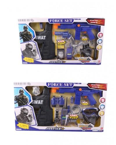 Полицейский набор 34270/90, 2 вида, в кор 66*38*6 см