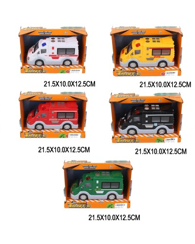 Машина батар. ST66-20/31/21/22/23, звук, в коробке 21,5*10*12,5см