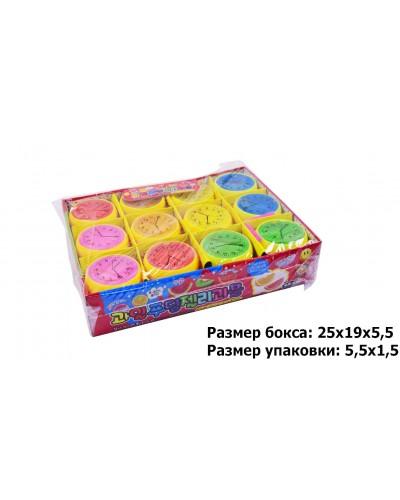 Лизун M02109 6 цветов, разм 6 см, в боксе по 36шт /цена за шт/