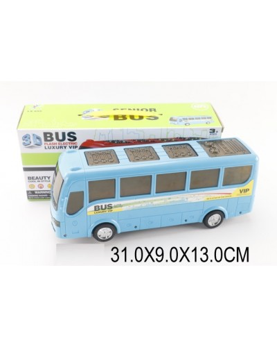 Автобус батар. LX655 в коробке 31*9*13 см
